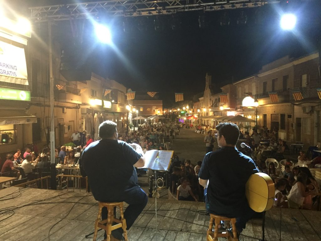 Actuació en El Palmar
